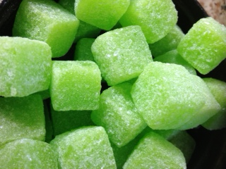 Tangy Apple Cubes